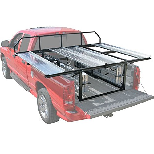 Atv Truck Ramps >> Double Atv Carrier Rack Loading Ramps For Pickup Trucks With 6 Or