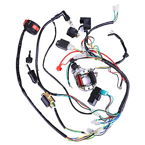 Cisno Complete Electrics Stator Coil Cdi Wiring Harness
